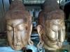B02, budha head, mahogany wood, size 100cm U$D 450 each. available size 10cm,20cm,30cm,50cm,75cm,ect
