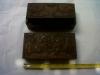 Box 10. 20cm x 10cm x 5cm. ($ 6) ebony wood