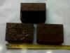Box 4a, 10cm x 8cm x 3cm. (2$) ebony wood
