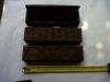Box1, 20cm x 5cm x 5cm. U$D 3. ebony wood