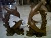 M46 dolphin size 35 ( U$D 30 each) mahogany wood