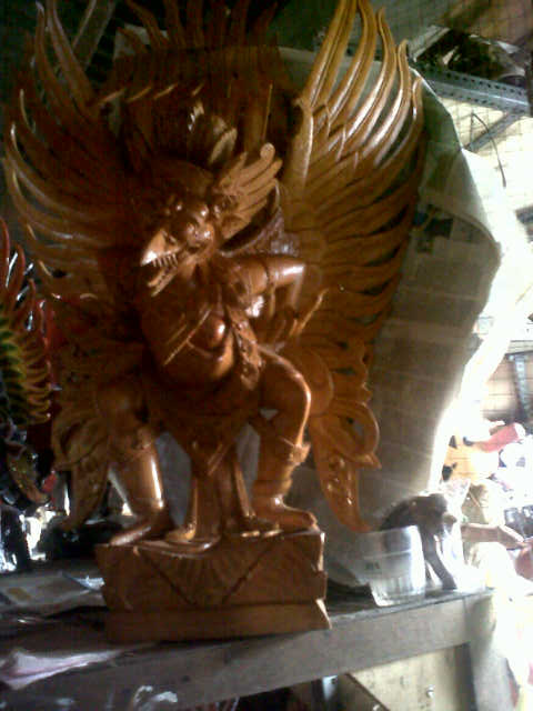 G01,garuda bird 40cm U$D 300, teak wood