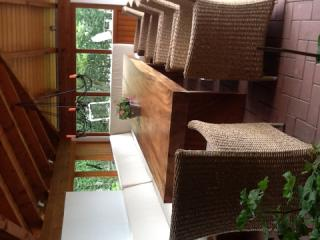 TB01, mahogany wooden table, 300cm x 80cm x thick 10cm. strait cut, table only U$D 9001