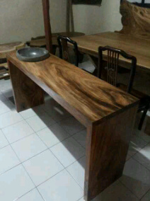 TB01. table  combine stone  washing counter, 200cm x 50cm x thick 10cm. strait cut, U$D 400